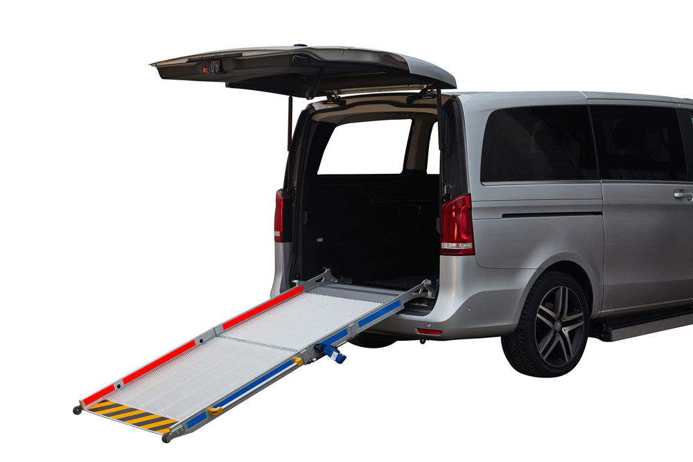 car ramp for wheelchairs