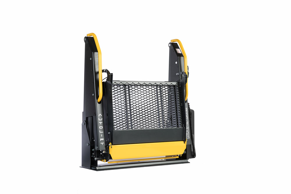 folding wheelchair access for vehicles